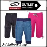 tříčtvrteční kalhoty Loap