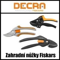 zahradní nůžky fiskars