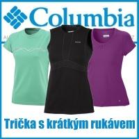 trička s krátkým rukávem columbia